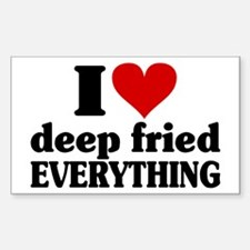 I Heart Deep Fried EVERYTHING Decal