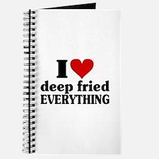 I Heart Deep Fried EVERYTHING Journal