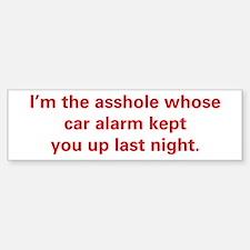 Car Alarm Revenge Bumper Bumper Sticker