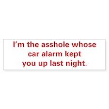 Car Alarm Revenge Bumper Sticker