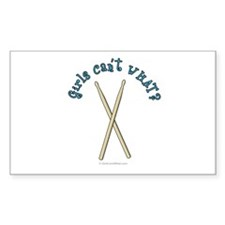 Drum Sticks Decal