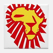 Red Lion Tile Coaster