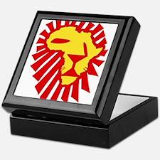 Red Lion Keepsake Box