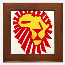 Red Lion Framed Tile