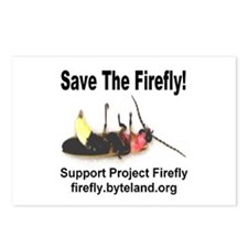 Save The Firefly Postcards (Package of 8)