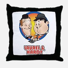 Cute Comedians Throw Pillow