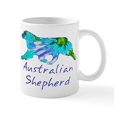 Tie Dye Aussie Mug