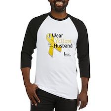 Yellow for Husband Baseball Jersey
