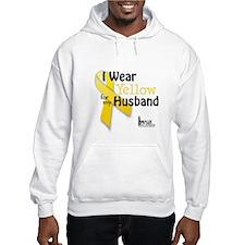 Yellow for Husband Hoodie