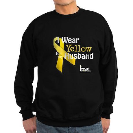 Yellow for Husband Sweatshirt (dark)