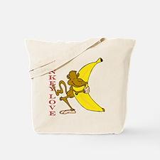Hot Monkey Love Tote Bag