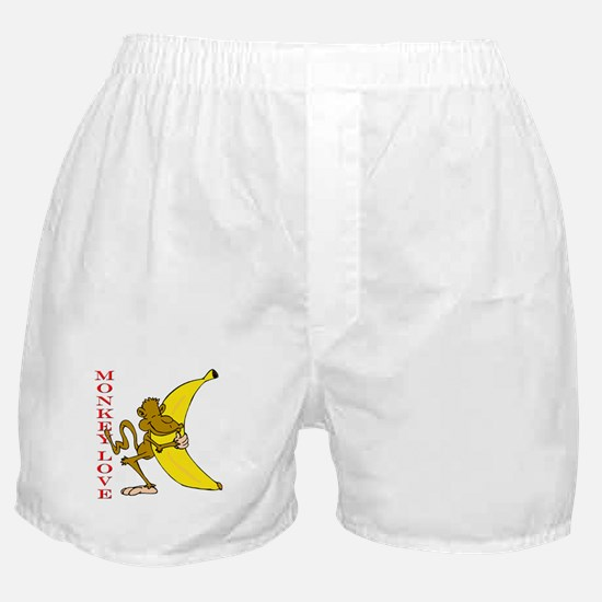 Hot Monkey Love Boxer Shorts