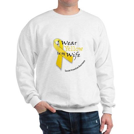 Yellow for Wife Sweatshirt