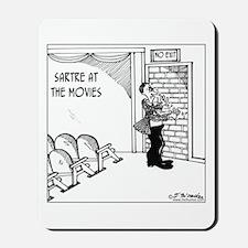 Sartre at the Movies Mousepad