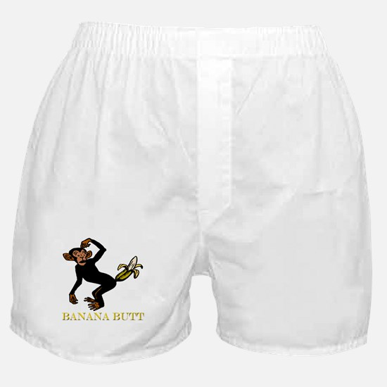 Banana Butt, What? Monkey But Boxer Shorts