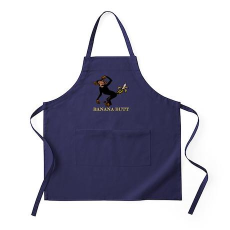 Banana Butt, What? Monkey But Apron (dark)