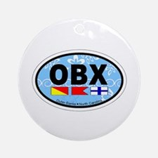 Outer Banks NC - Oval Design Ornament (Round)