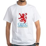 C&P Scots White T-Shirt