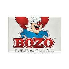 Cute Bozo Rectangle Magnet