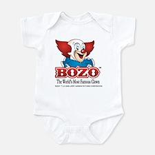 Bozo face Body Suit