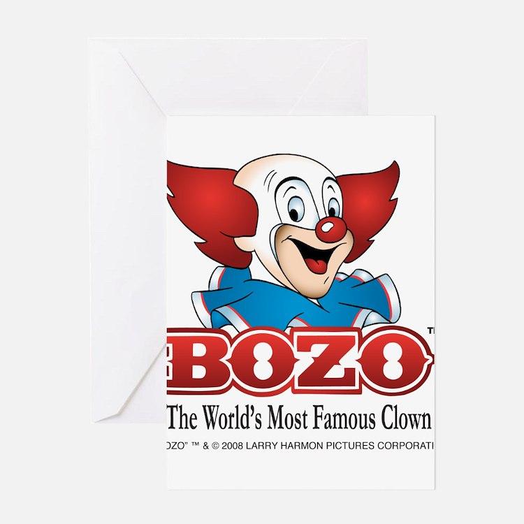 Cute Bozo Greeting Card