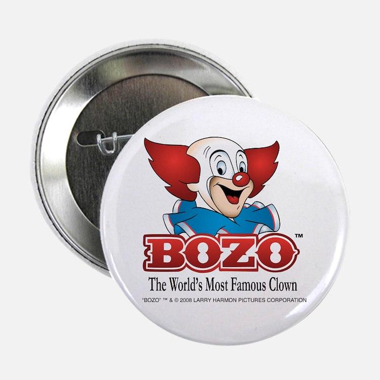 """Cute Clown 2.25"""" Button (10 pack)"""