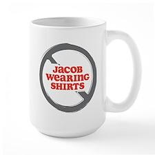 Against Jacob in Shirts Mug