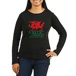 C&P Welsh Women's Long Sleeve Dark T-Shirt