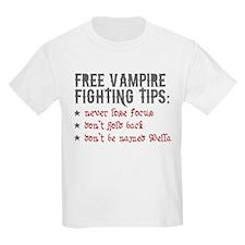 Vampire Fighting Tips T-Shirt