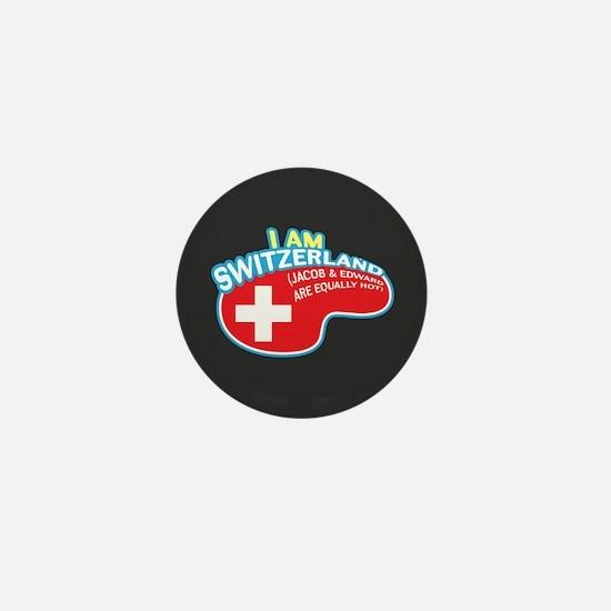 I Am Switzerland Mini Button