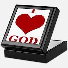 I Love GOD Keepsake Box