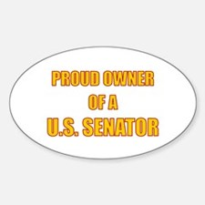 Senator Owner Oval Decal