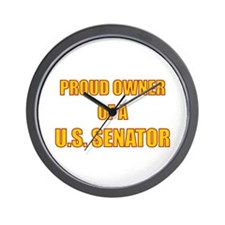 Senator Owner Wall Clock