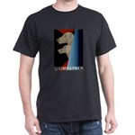 Weimaraner Bauhaus Geo Dark T-Shirt