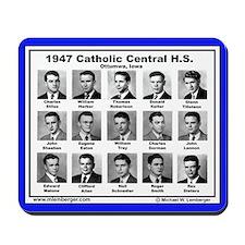 1947 Catholic Central HS, Ottumwa, Iowa, Mousepad