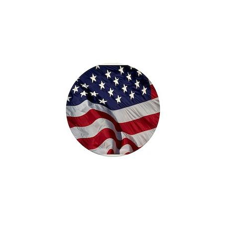 American Flag Mini Button (100 pack)