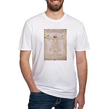 Vitruvian Man by Leonardo Shirt