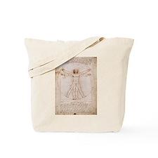 Vitruvian Man by Leonardo Tote Bag