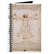 Vitruvian Man by Leonardo Journal