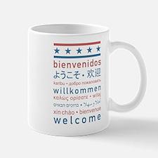 """""""Welcome USA"""" Mug"""