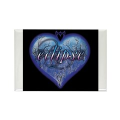 Eclipse Heart Rectangle Magnet