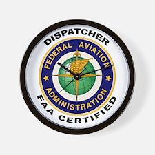 FAA Certified Dispatcher Wall Clock