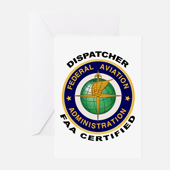 FAA Certified Dispatcher Greeting Cards (Pk of 20)