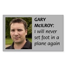 Gary's Fear-o-Flying Rectangle Decal