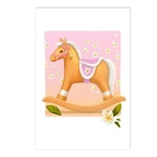 Palomino in Pink Horse Postcards (Package of 8)