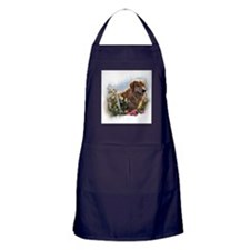Golden Retriever Art Apron (dark)