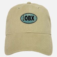 Outer Banks NC - Oval Design Baseball Baseball Cap