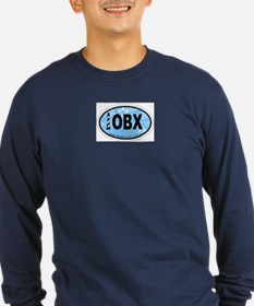 Outer Banks NC - Oval Design T