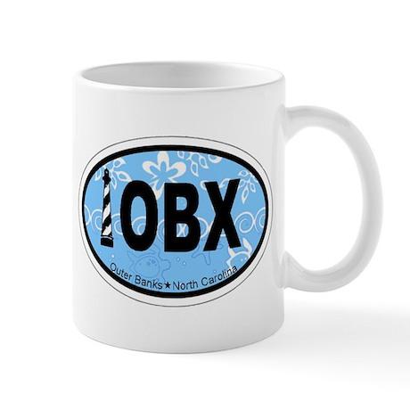Outer Banks NC - Oval Design Mug