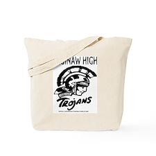 SAGINAW HIGH TROJANS Tote Bag